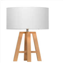 Lampe de table LED blanche