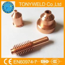 Buse de coupe plasma et électrode 220037 pour coupe torche