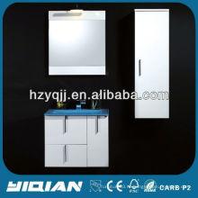 Ванная комната антикварный белый шкаф настенный шкаф ПВХ 60 см шкаф для ванной комнаты