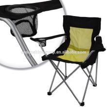 Folding full mesh chair parts.