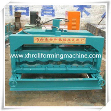 Custom Galvanized Glazed Tile Roll Forming Machine (XH1035)