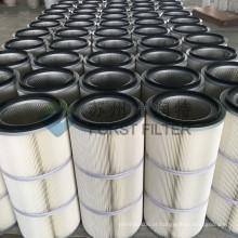 FORST Revestimento de alumínio Cilindro de poliéster Hepa Filtro de ar