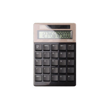 Calculadora de Bolsillo de 12 Dígitos, Dual Power Electronics