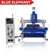 Alta velocidad ATC de mesa de vacío CNC que talla la máquina 1530 Auto Tool cambiador de CNC Router para la venta caliente