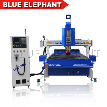 Haute vitesse ATC Vide Table CNC Carving machine 1530 Auto Outil changeur CNC Routeur pour Vente chaude