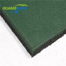 Cheap Elastic Indoor Outdoor Shock Absorption Mat Rubber Gym Flooring Tiles
