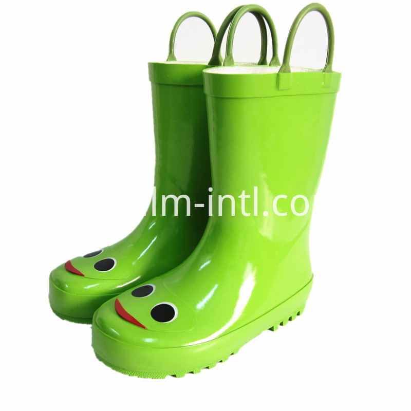 Children's Rubber Rain Boots