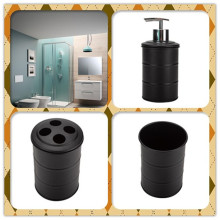 Black Bathroom Soap Dispenser Bathroom Accessories