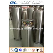 Cylindre cryogénique à isolation thermique à soudure avec ASME