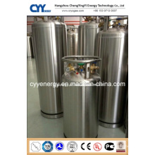 Weld Heat Insulation Cryogenic Cylinder with ASME