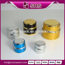 China Cosmetic Packaging Round Shape Luxury Cream Containers And 7g 15g 20g 30g 50g 100g 200g Skincare Empty Aluminum Jars