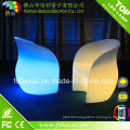 LED Illuminated Plastic Glass Table and Chair for Bar