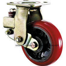 Shock-Absorbing Caster Series - 5inch 6inch 8 Inch Shock Proof Castor