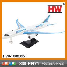 (Синий и белый смешанные) Высокое качество 26 Cm Пластиковые Потяните обратно Air Plane Model