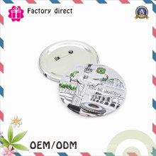 Customized Logo Pin Tin Button Badge