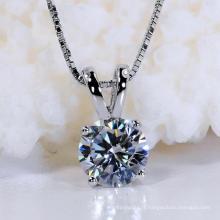 Fashion Star Cut Synthetic Diamond Necklace Bijoux pour cadeau