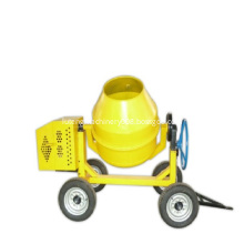 4 Wheels Portable 600L Electric Motor Concrete Mixer
