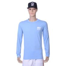 Atacado baratos Plain Blank T Shirts para homens do esporte (H)