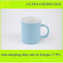 Tasse de café en céramique de sublimation en gros de mode