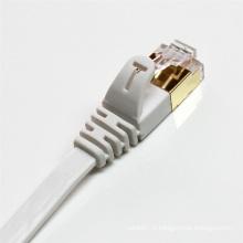 Câble de raccordement plat Cat7 SSTP réseau Ethernet
