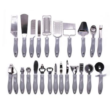 utensílios de cozinha de aço inoxidável melhores