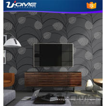 Uhome Stocklot or Vinyl Velvet Bamboo Wallpaper for Home Decals