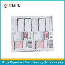 Express Waybill with Customized Logo and Barcode