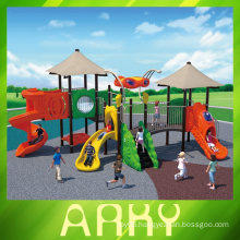 Updated Rubber Coated Outdoor Playground Equipment For Kids