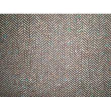 Шерстяная ткань с елочкой (Art # UW301)
