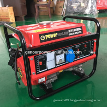 China 1kw 1000w gasoline generator 4-stroke electric start with OEM service