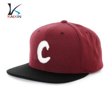 Kaixin Cap Wholesale Snapback Hat Flat Brim 6 Panel 3D Embroidery Logo Hat And Cap Man Hat