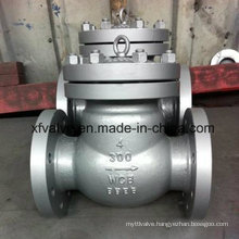 150lb/300lb/600lb/1500lb Cast Steel Wcb Flange End Check Valve