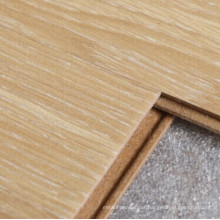 10mm Crystal Finish Wild Walnut Square Edges Laminated Flooring
