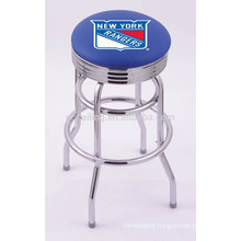 Cheap Steel Frame with Chrome Plated Swivel used bar stools