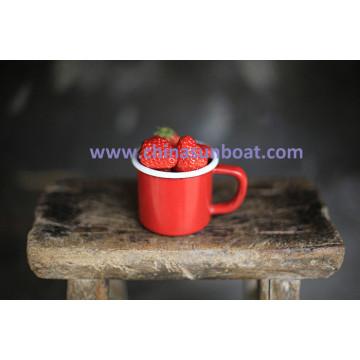 Sunboat Tableware Enamel Mug Milk Cup Children′s Coffee Cup Kitchenware