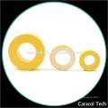 Couleur jaune et blanche CT124-26 bobine de fer doux noyaux de poudre