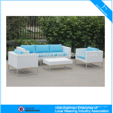 Outdoor garden rattan furniture module outdoor sofa set
