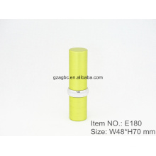 Modern&Glamorous Aluminum Cylindrical Lipstick Tube Container E180, cup size12.1/12.7,Custom color