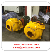 Wide Passage Centrifugal Sand Gravel Pump