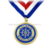 Soft Enamel Medal with Neck Ribbon, OEM Designs are WelcomeNew