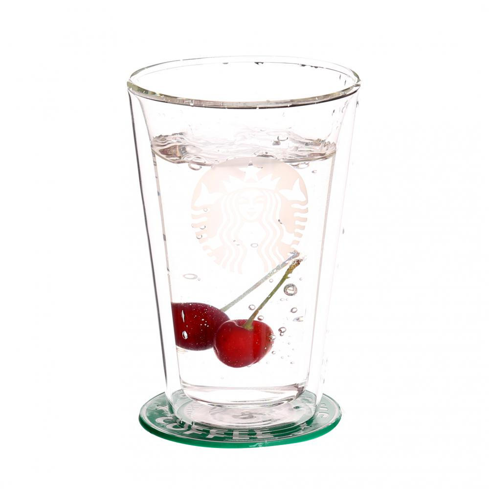 Mouthblown Heatproof Double Wall Glass Cup