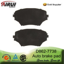 D862-7738 Ceramic Front Brake Pad for Toyota RAV 4 MK II