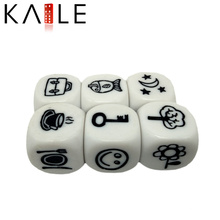 24mm Custom 6 Sided Etched Chinese Products Dice