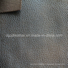 Eco-Friendly Breathable PU Furniture Leather (QDL-FB0057)