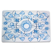 Flower Design PP Table Mat/ Placemat