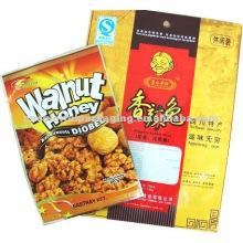 Lebensmittelverpackungen aus laminiertem Material für die Verpackung von Nüssen