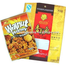 laminated material food packaging bags for nuts packaging