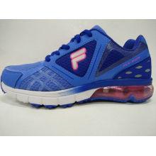 Marken-Schuh-Qualitäts-blaue Ineinander greifen-laufende Schuhe