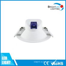 CE, RoHS / Iluminación de techo redonda COB LED Downlight empotrado