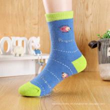 Bio-Cotton Typ thermische Baby niedliche Junge Rohr Socken